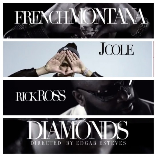 NEW VIDEO: @FRENCHMONTANA X JCOLENC X @RICKYROZAY 'DIAMONDS'
