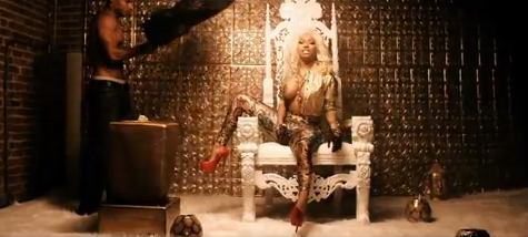 NICKI MINAJ & HER TWINS 'FREAK' OUT ON NEW FRENCH MONTANA VIDEO